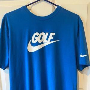 Men's Nike Dri-fit Golf T-shirt Size Medium